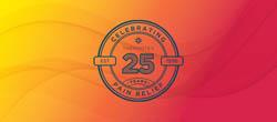 Thermotex 25th anniversary logo